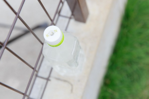 オシッコ流す用のペットボトル