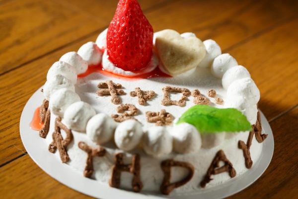 キャロの誕生日ケーキ